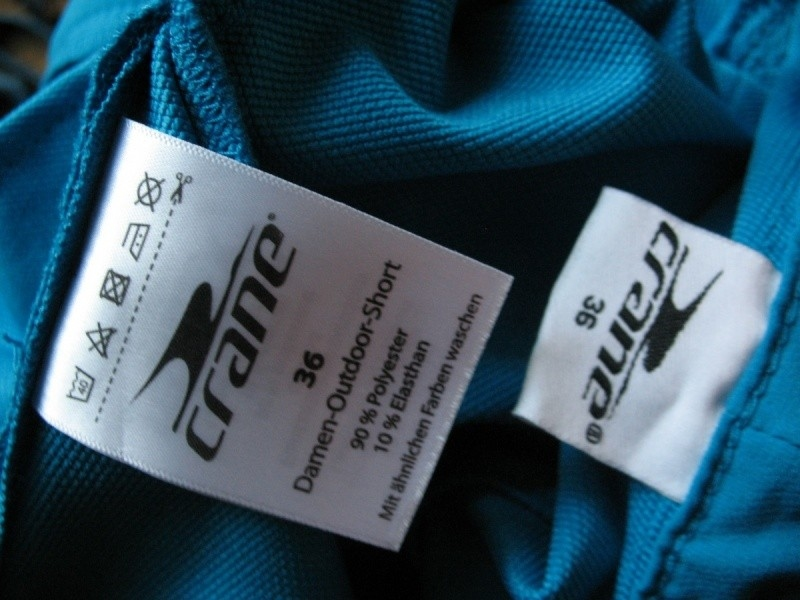 Шорты CRANE bike shorts lady (размер 36-S) - 10