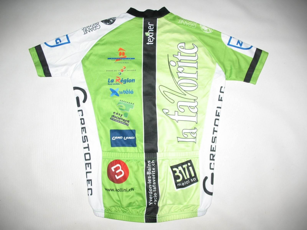 Веломайка TEXNER la favorite green cycling jersey (размер S) - 1
