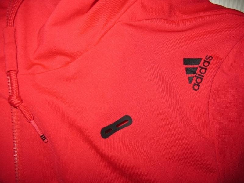 Кофта ADIDAS core performance climalite full zip hoodie  (размер S/M) - 10