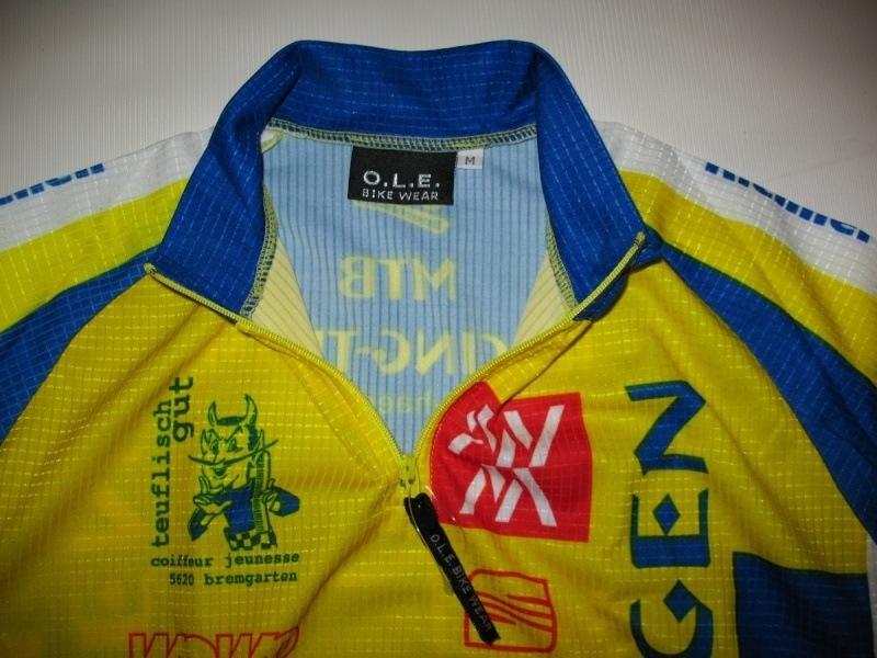 Футболка O. L. E. radsport  (размер MS) - 2