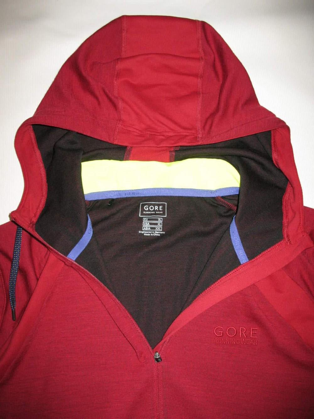 Кофта GORE running wear hooded running jacket (размер XXL) - 9