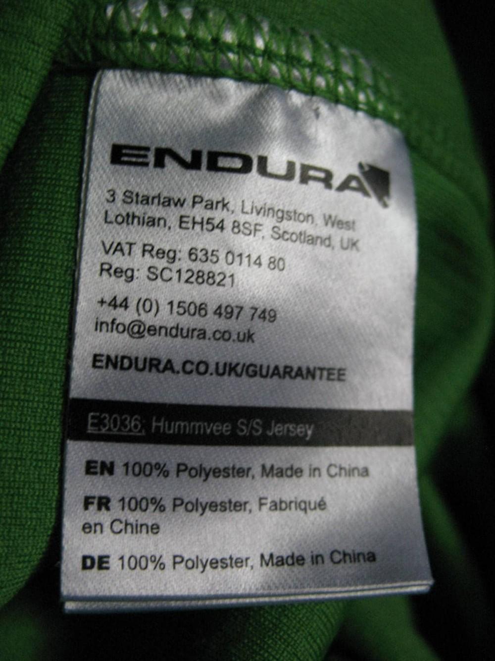 Веломайка ENDURA hummvee ss jersey (размер M/L) - 5