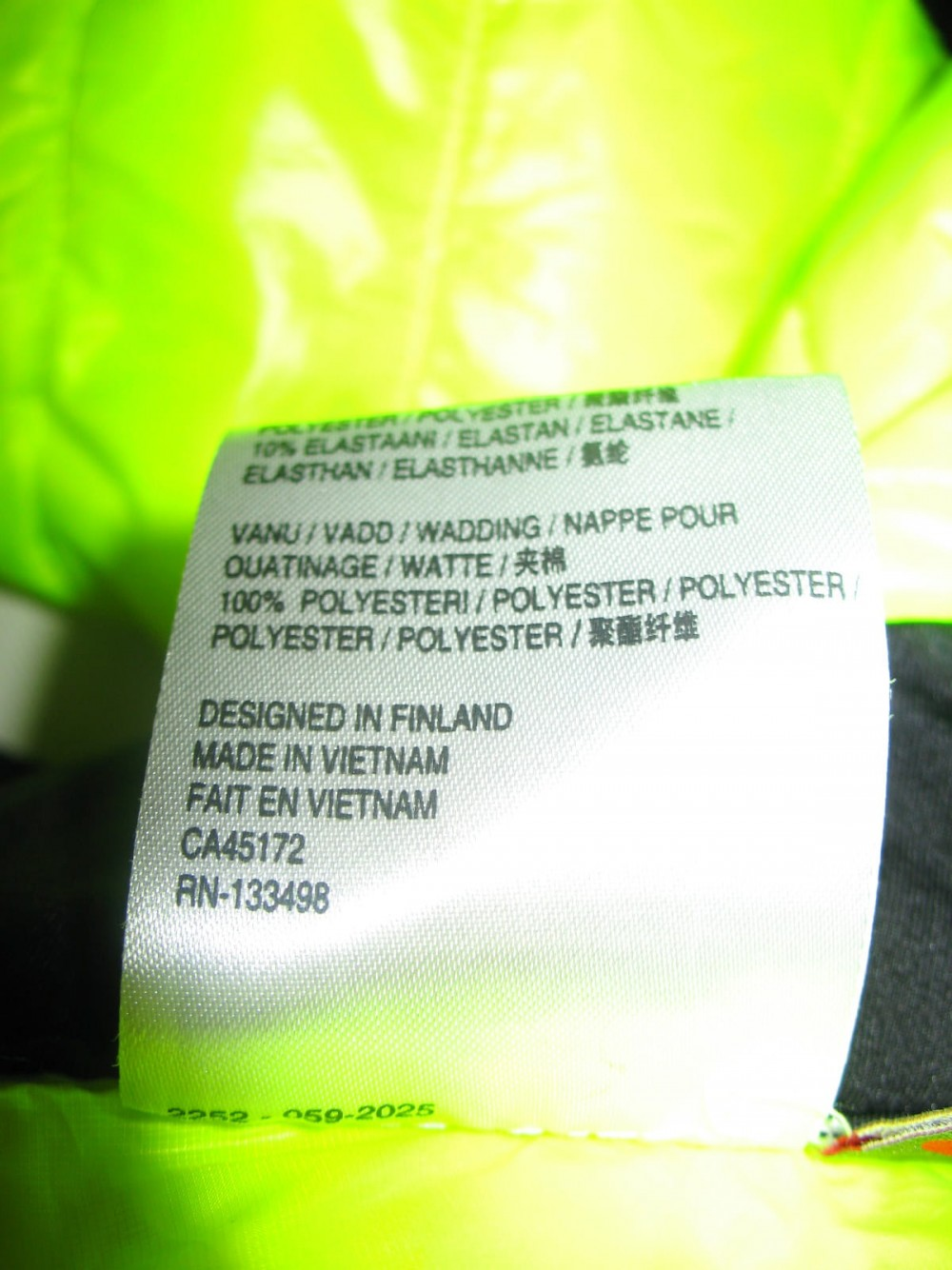 Шорты 2/3 HALTI primaloft shorts pants (размер M) - 6
