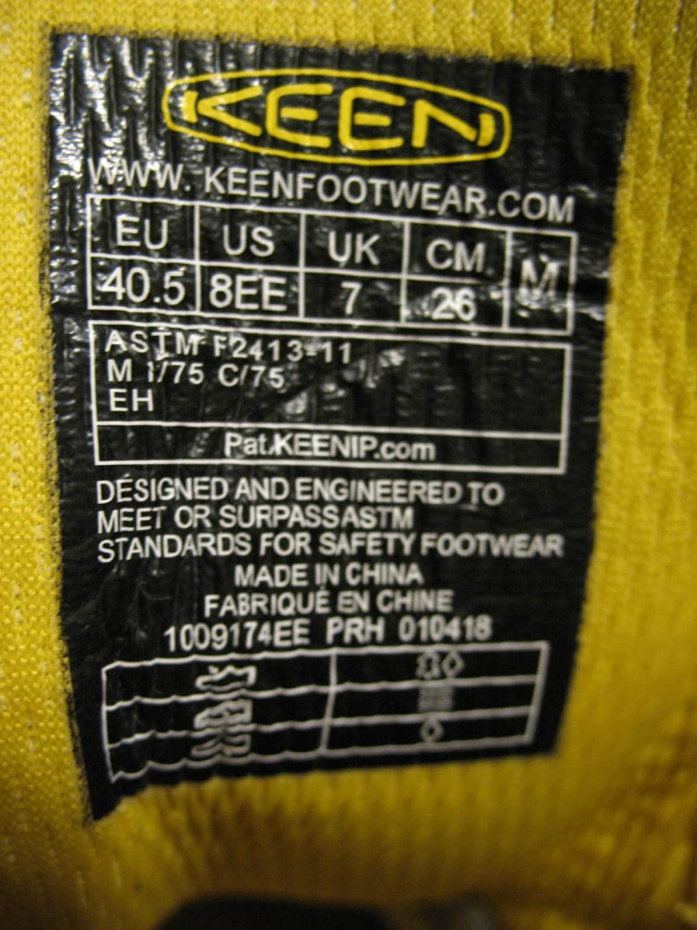 Ботинки KEEN milwaukee waterproof boots (размер US8/UK7/EU41(на стопу 260 mm)) - 12
