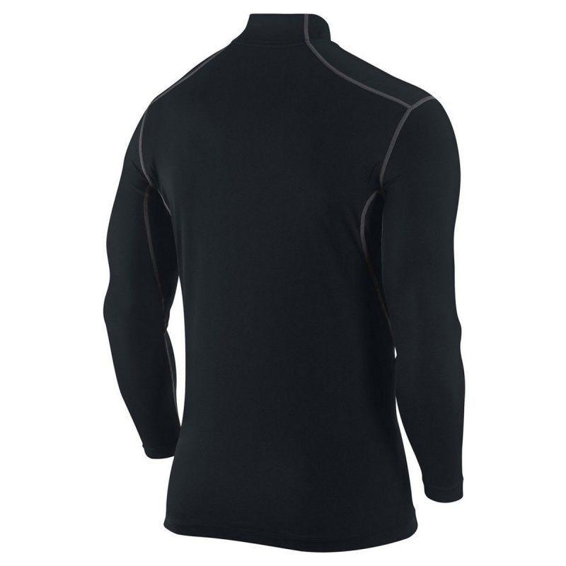 Футболка NIKE Pro Combat Fitted Mock Neck Shirt Dri-Fit (размер юношеский XL/взрослый XS/S) - 1