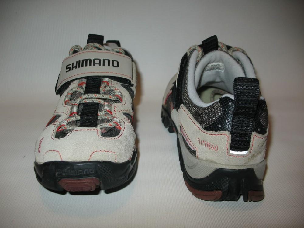 Велотуфли SHIMANO sh-wm 40 mtb shoes lady (размер US6.5/EU38(на стопу 238 mm)) - 6
