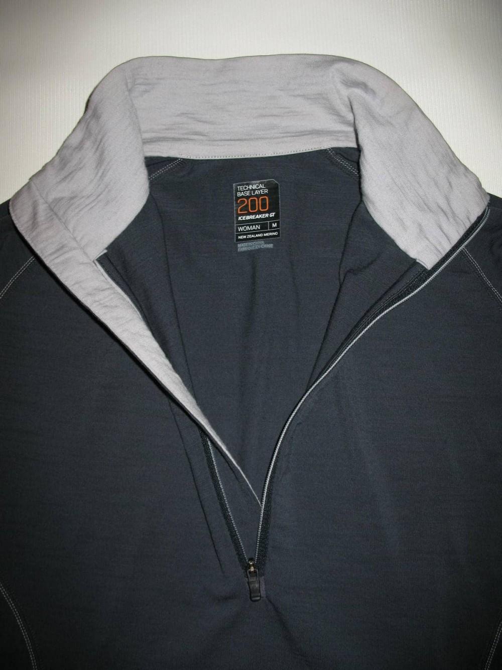 Термобелье ICEBREAKER GT 200 jersey lady (размер M/мужской S) - 3