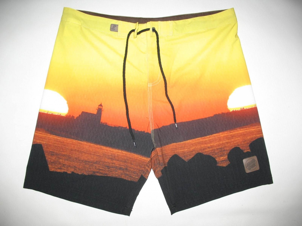 Шорты SANTA CRUZ Lighthouse Sunset Boardshort (размер 36/XL) - 5