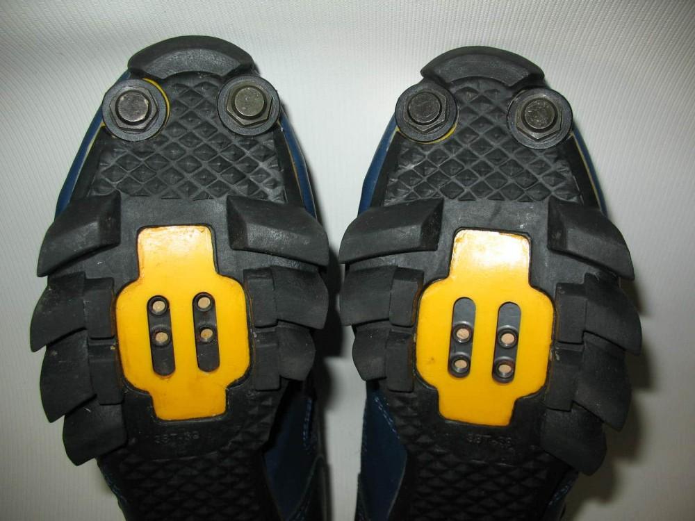 Велотуфли SHIMANO SH-M150 mtb shoes (размер UK5,5/EU38,5(на стопу до 240 mm)) - 8