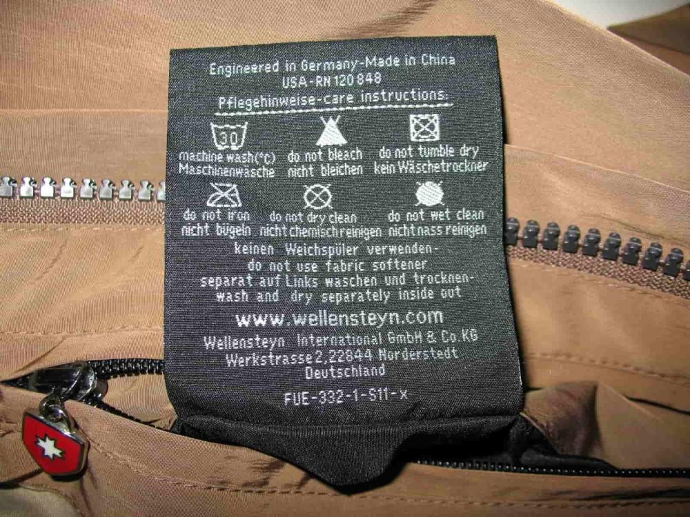 Куртка WELLENSTEYN fuel jacket (размер L) - 12