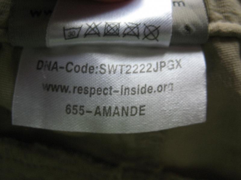 Шорты SWITCHER amande 3/4 pants (размер XL) - 14