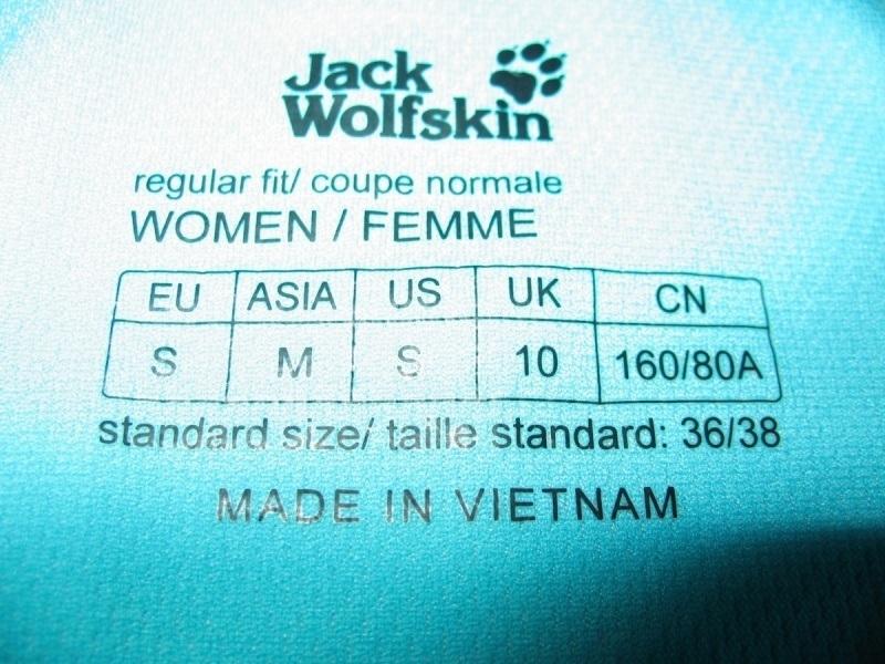 Футболка JACK WOLFSKIN shirts lady (размер S/M) - 3