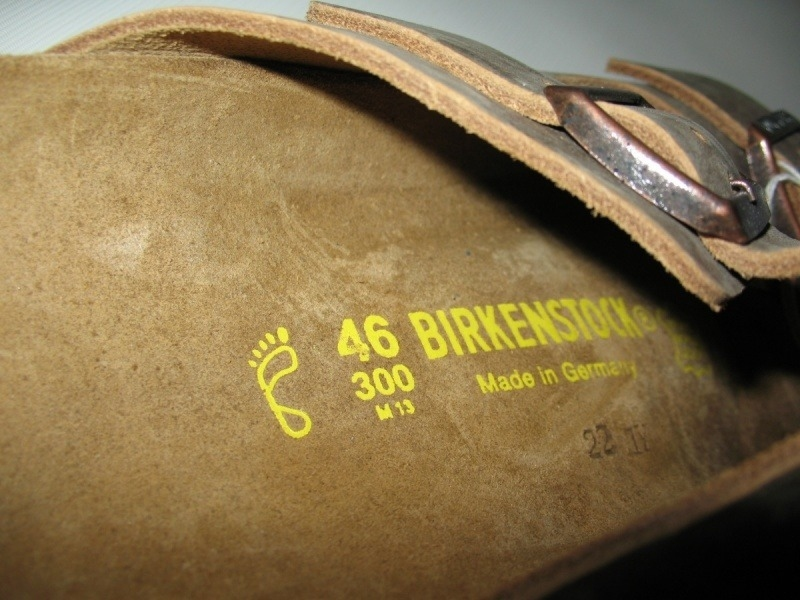 Сандали BIRKENSTOCK arizona (размер EU46(300 mm)) - 9