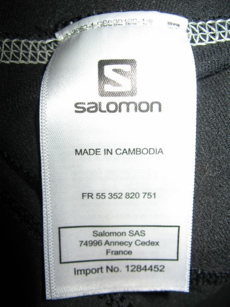 Кофта  SALOMON fleece jacket lady (размер M) - 5