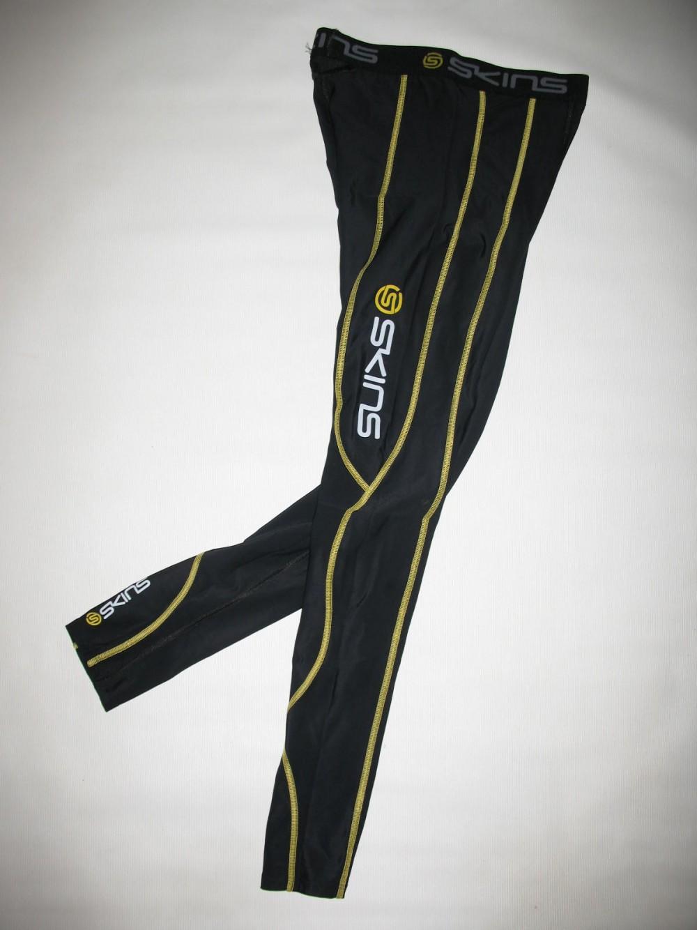 Футболка+брюки SKINS A200 compression long sleeves jersey+long tights (размер M) - 3