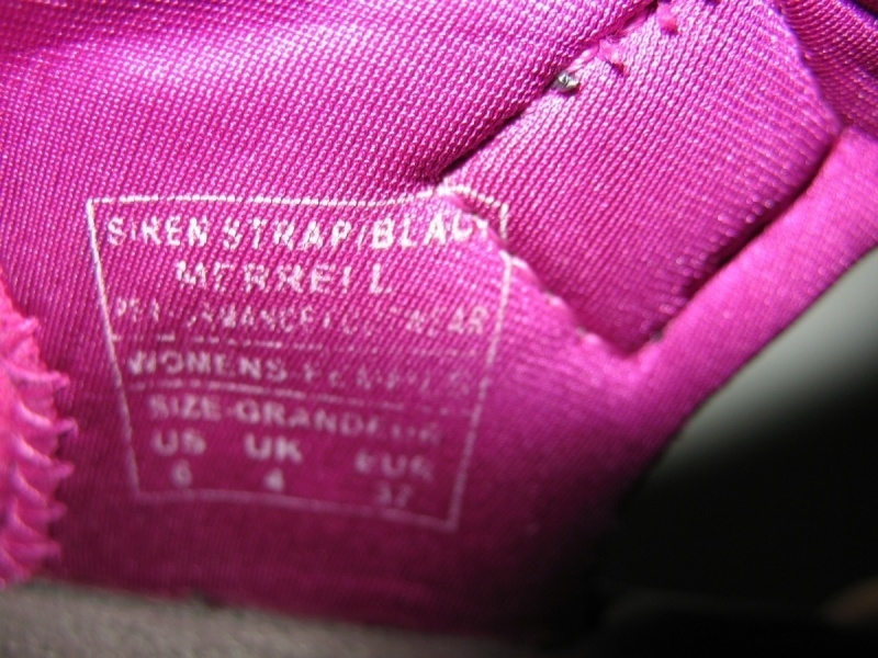 Сандали MERRELL Siren Strap lady (размер US 6/UK4/EU37(225-230 mm)) - 10