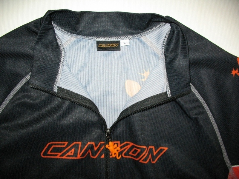 Футболка CANYON black jersey (размер L) - 2