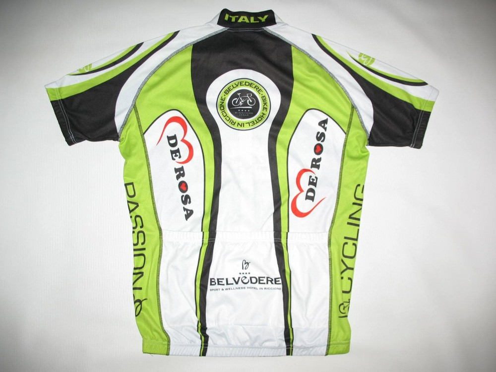 Веломайка VELO+ de rosa cycling jersey (размер L) - 1