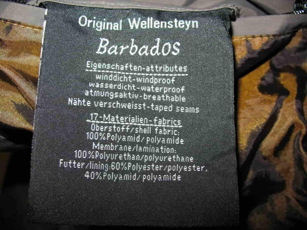 Куртка WELLENSTEYN barbados jacket lady (размер S) - 10