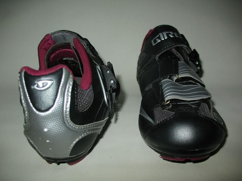 Велотуфли GIRO solara road shoes lady (размер US8/UK6/EU40(на стопу 250 mm)) - 7