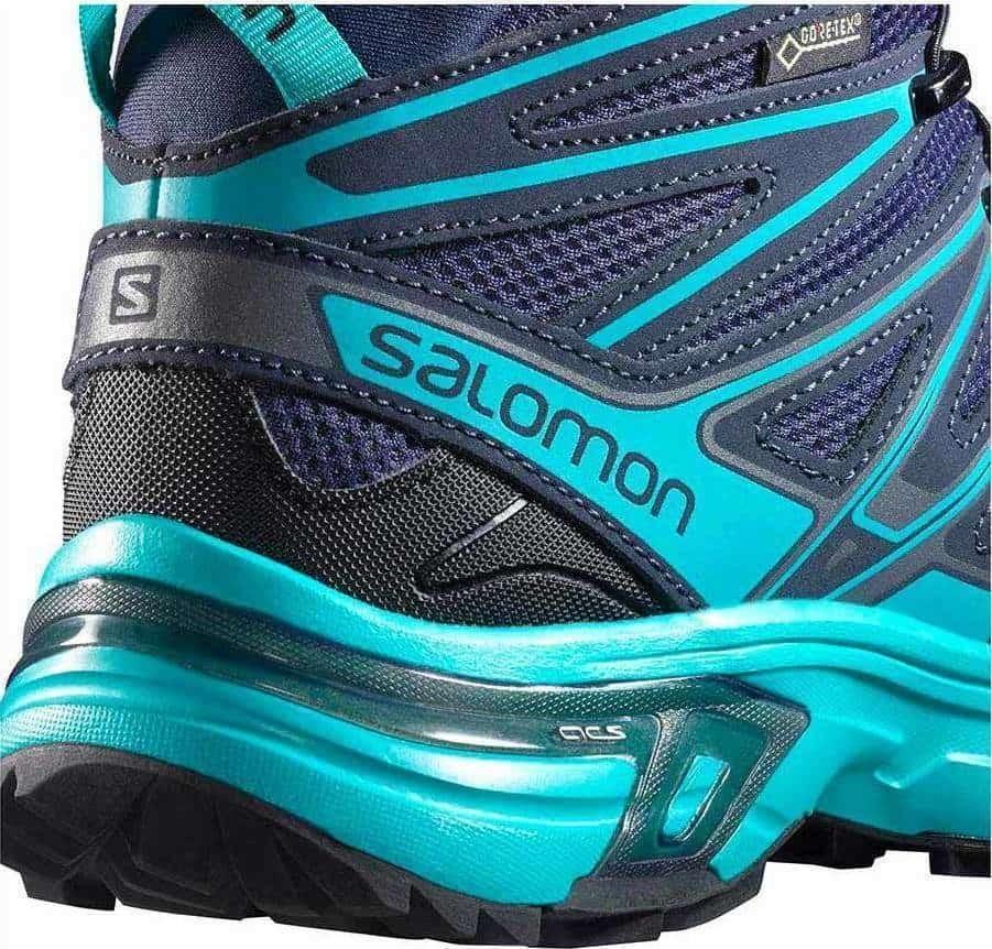 Ботинки SALOMON X chase GTX mid (размер UK5/US6,5/EU38,5(на стопу  235 mm)) - 3