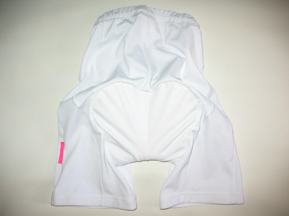 Велошорты NALINI white cycling shorts lady (размер S) - 3