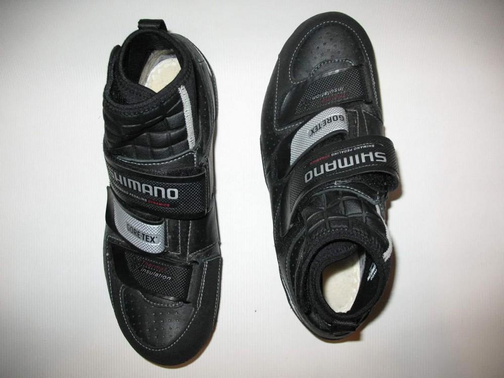 Велотуфли SHIMANO rw80 GTX shoes (размер US7,5;EU41(на стопу до 258 mm)) - 6