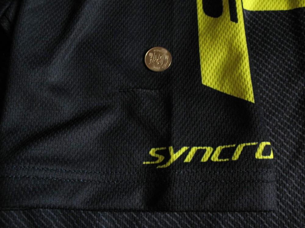 Веломайка ODLO scott sram cycling jersey (размер L) - 11