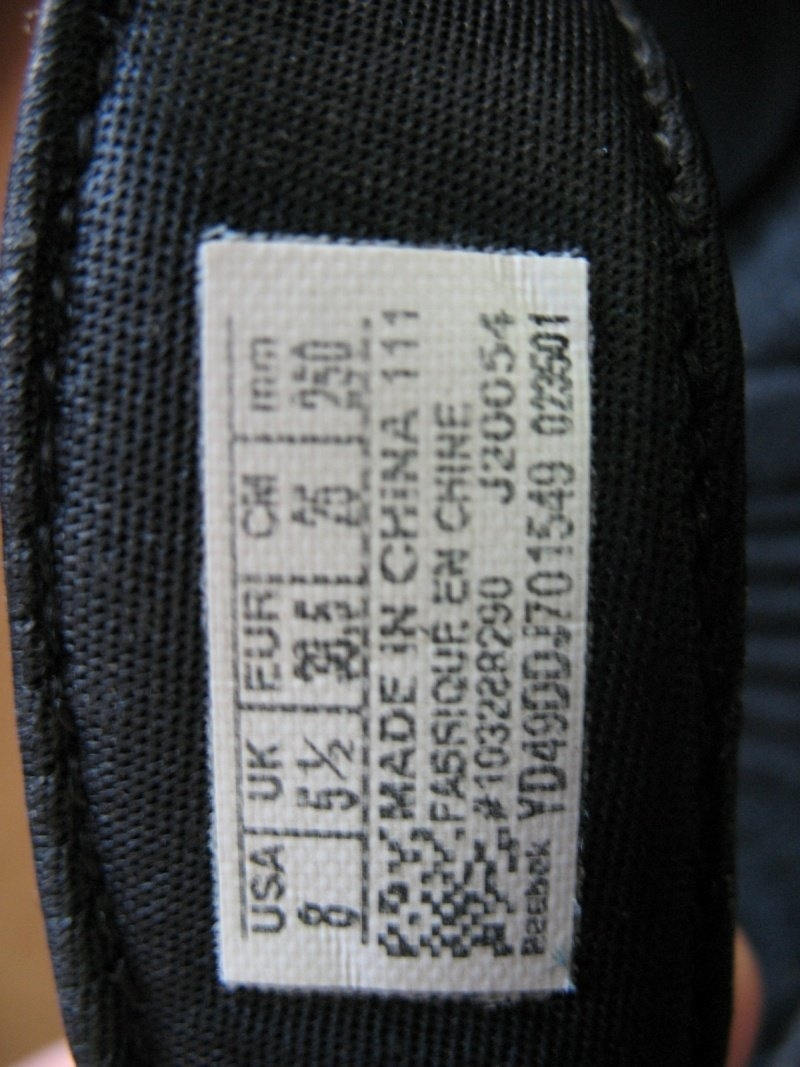Шлепанцы REEBOK Easytone Flip Flop lady   (размер US 8/UK5, 5/EU38, 5(245-250mm)) - 10
