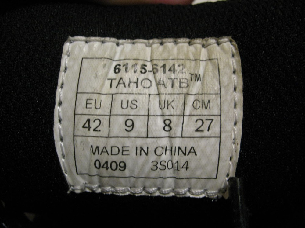 Велотуфли SPECIALIZED taho mtb shoes (размер US9/UK8/EU42(на стопу 265 mm)) - 8