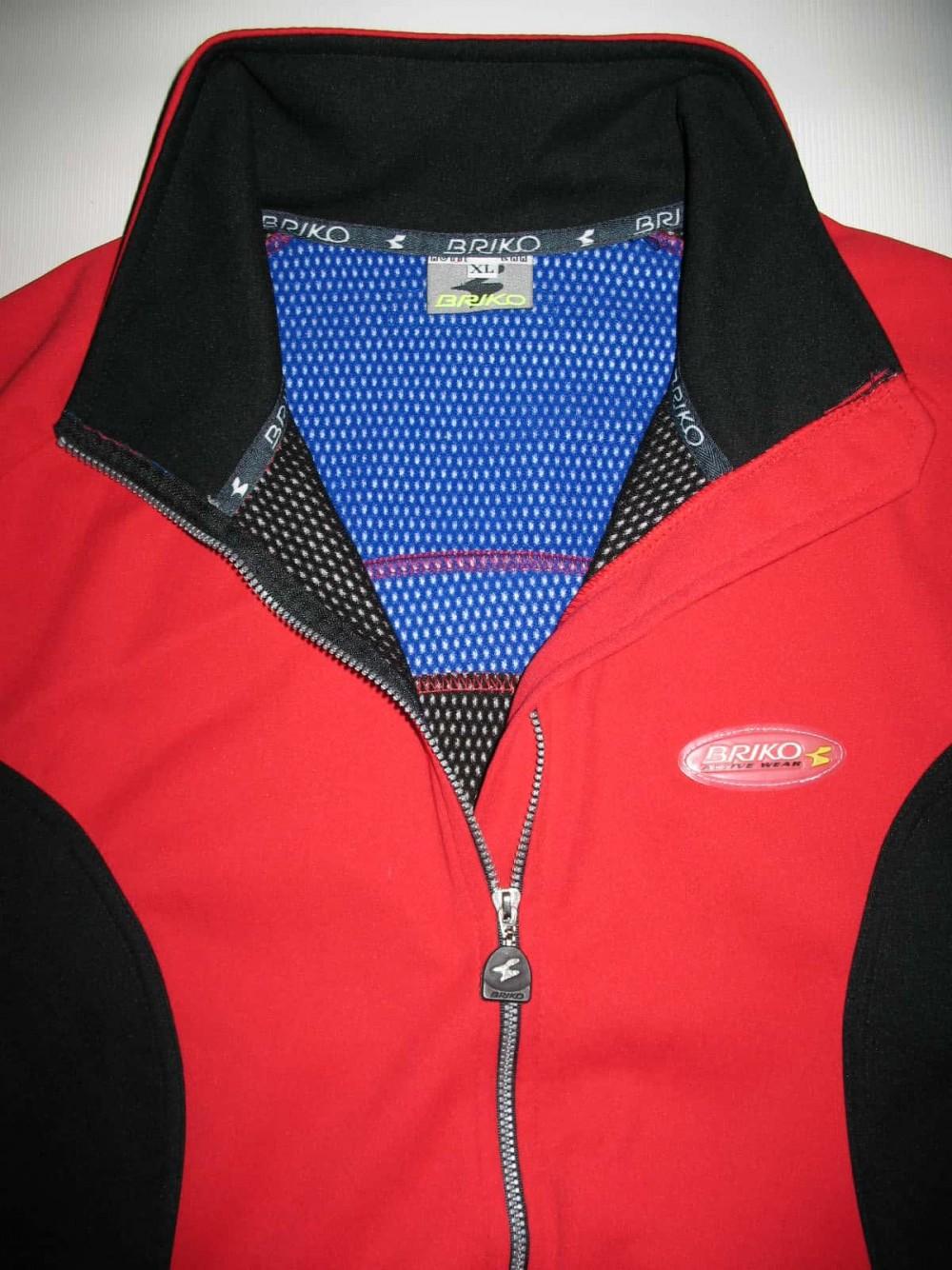 Велокуртка BRIKO windstopper cycling jacket (размер XL) - 2