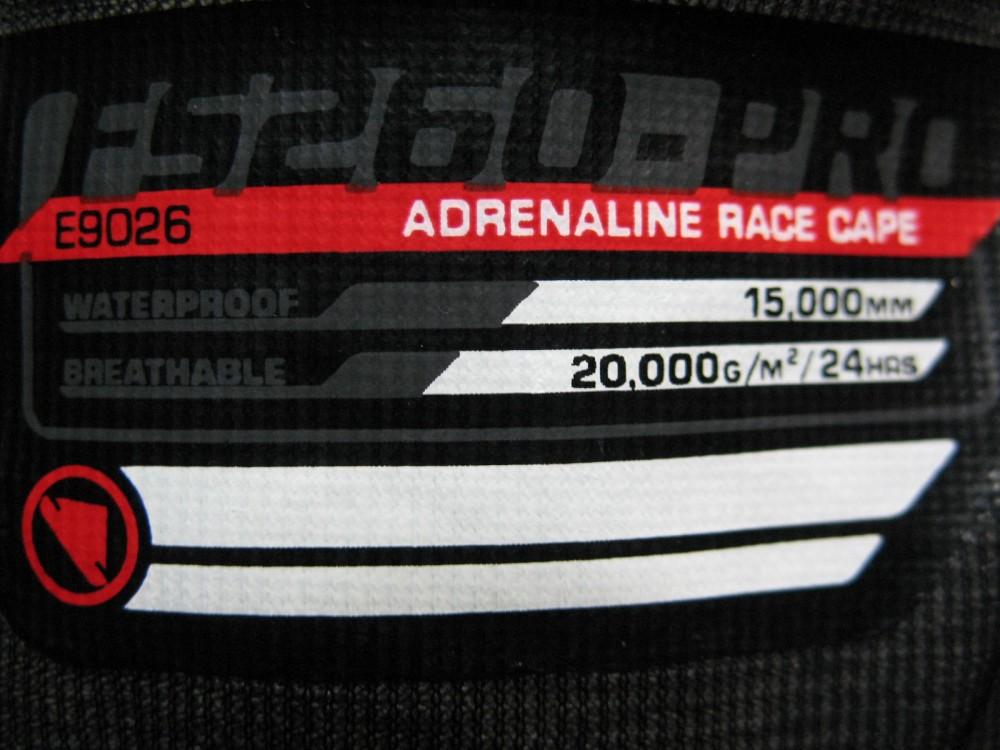 Велокуртка ENDURA FS260-Pro adrenaline race cape jacket (размер XL/XXL) - 7
