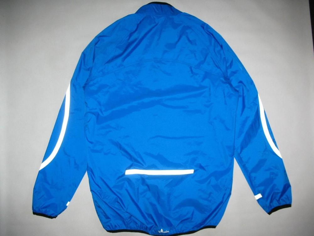Куртка BTWIN waterproof cycling jacket (размер L) - 1