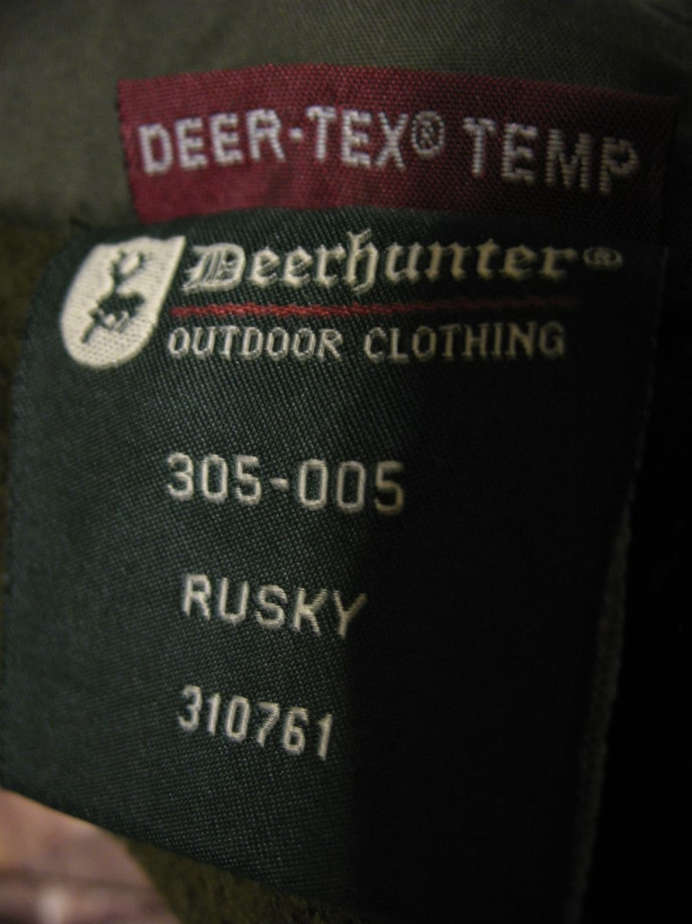 Штаны DEERHUNTER rusky winter hunting pants (размер 58/XXL) - 9