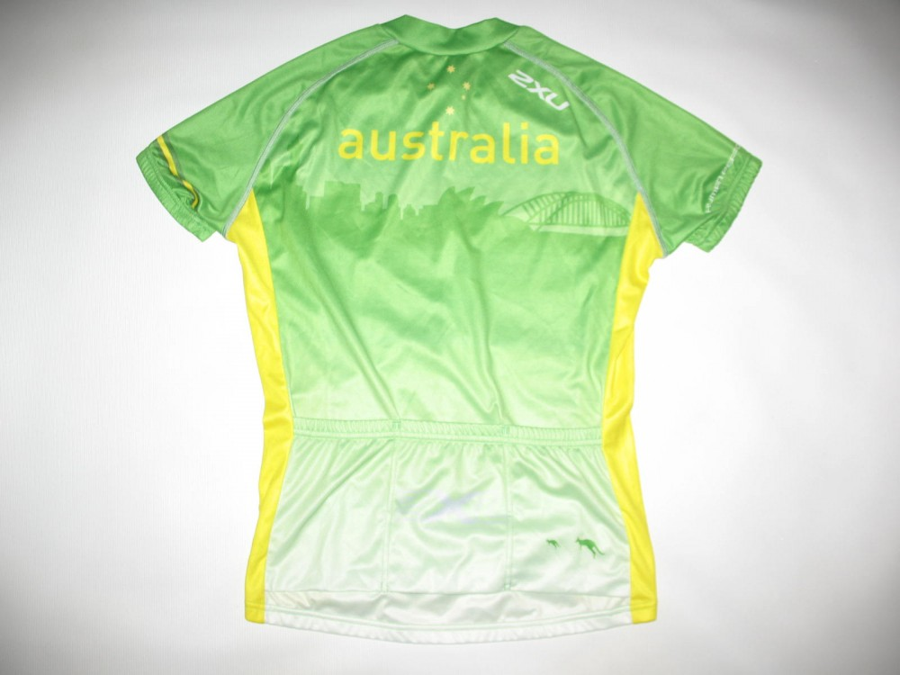 Веломайка 2XU australia cycling jersey lady (размер M) - 1
