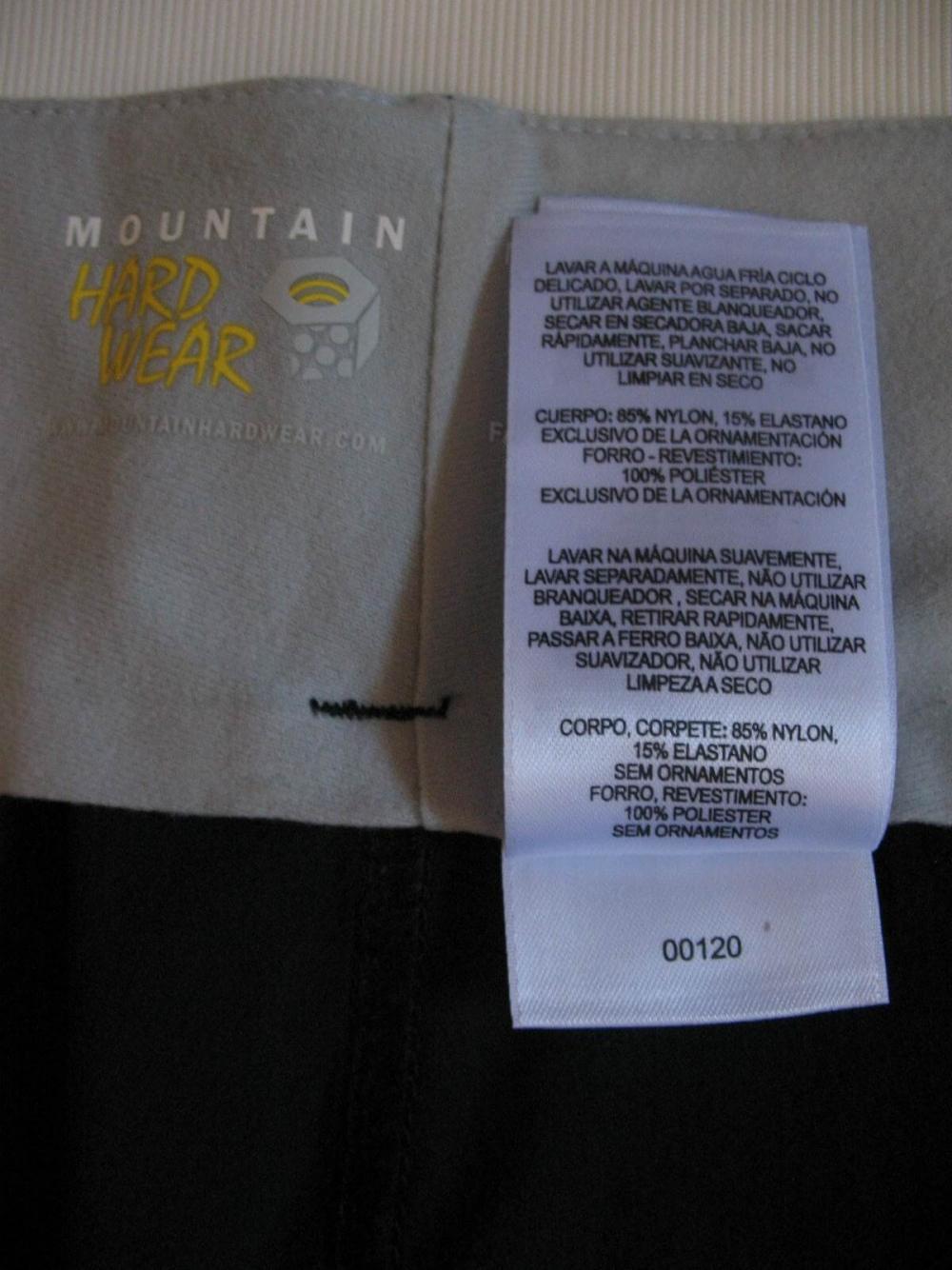 Шорты MOUNTAIN HARDWEAR outdoor shorts (размер L) - 6