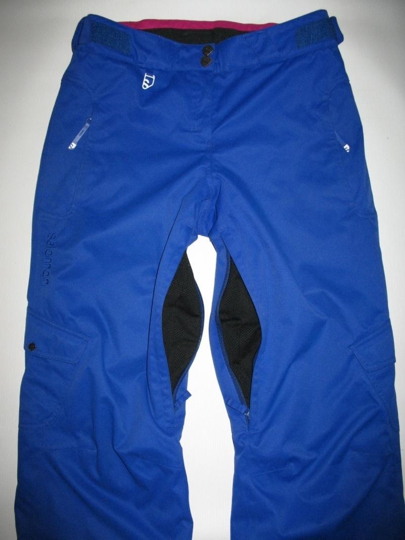 Штаны  SALOMON climapro 10/10 pants lady  (размер S) - 4