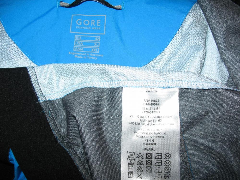 Куртка GORE Running Wear Air 2.0 Windstopper Active Shell Jacket (размер XL(реально L/M)) - 10