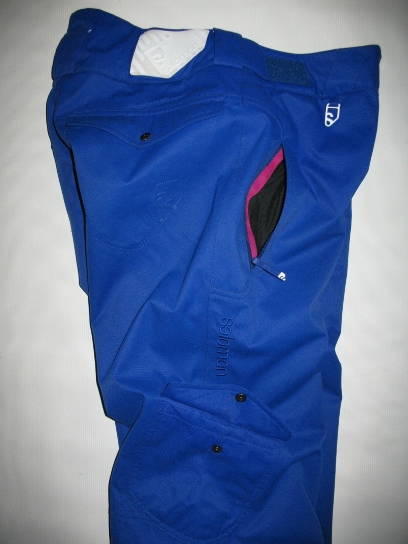 Штаны  SALOMON climapro 10/10 pants lady  (размер S) - 8