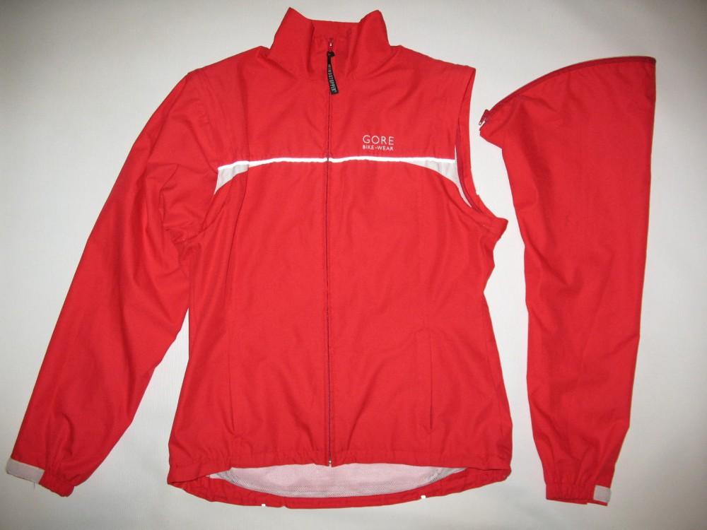 Куртка GORE bike wear 2in1 windstopper red jacket lady (размер 38/M) - 1