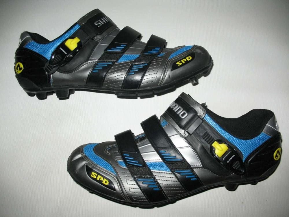 Велотуфли SHIMANO sh-m180g mtb bike shoes (размер UK12,5/EU47(на стопу до 298 mm)) - 3