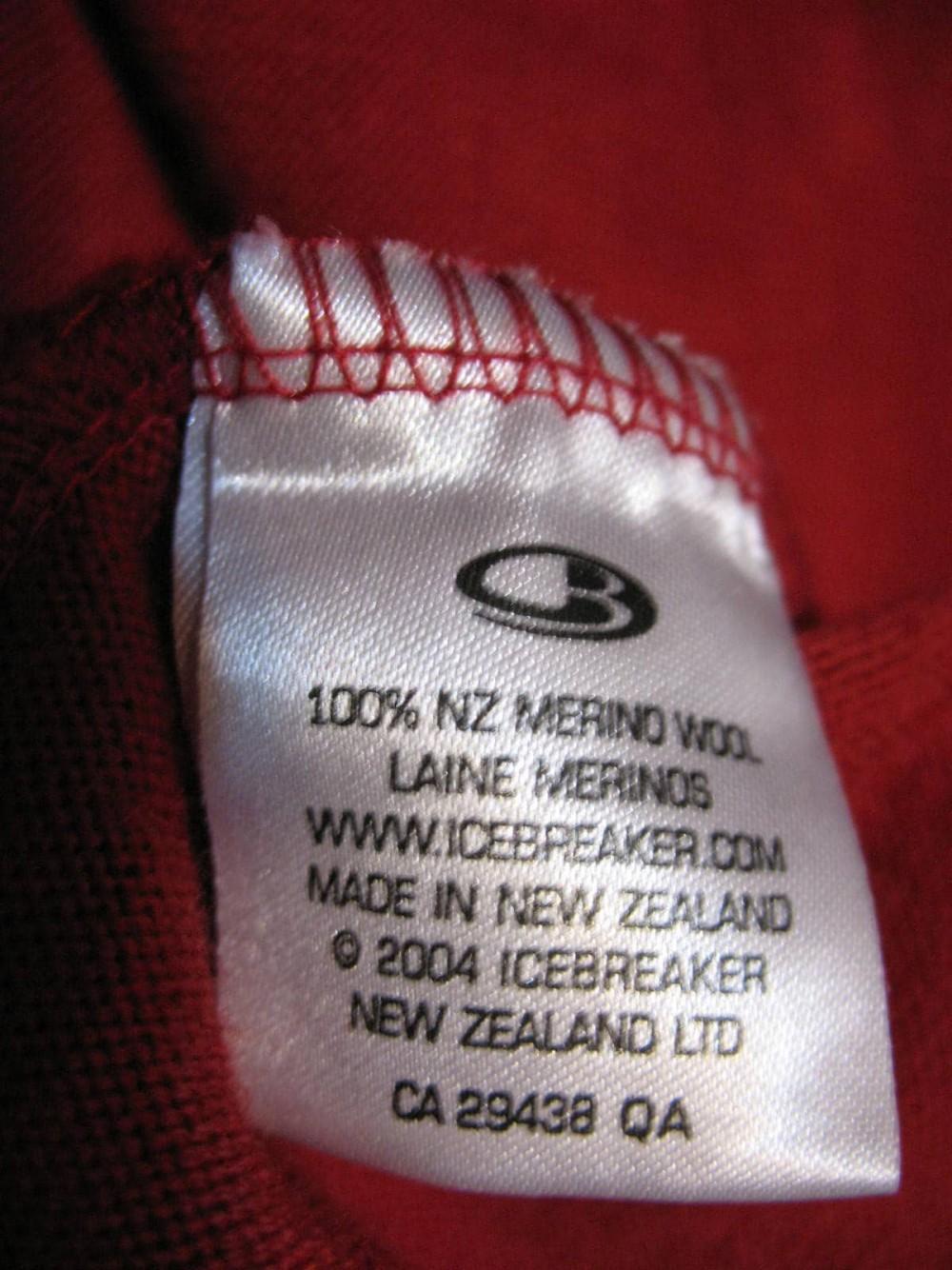 Кофта ICEBREAKER sport LTD jersey (размер L) - 6