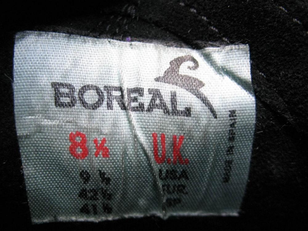 Скальные туфли BOREAL diablo climbing shoes (размер UK8/US9,5/EU42,5(на стопу 270 мм)) - 9