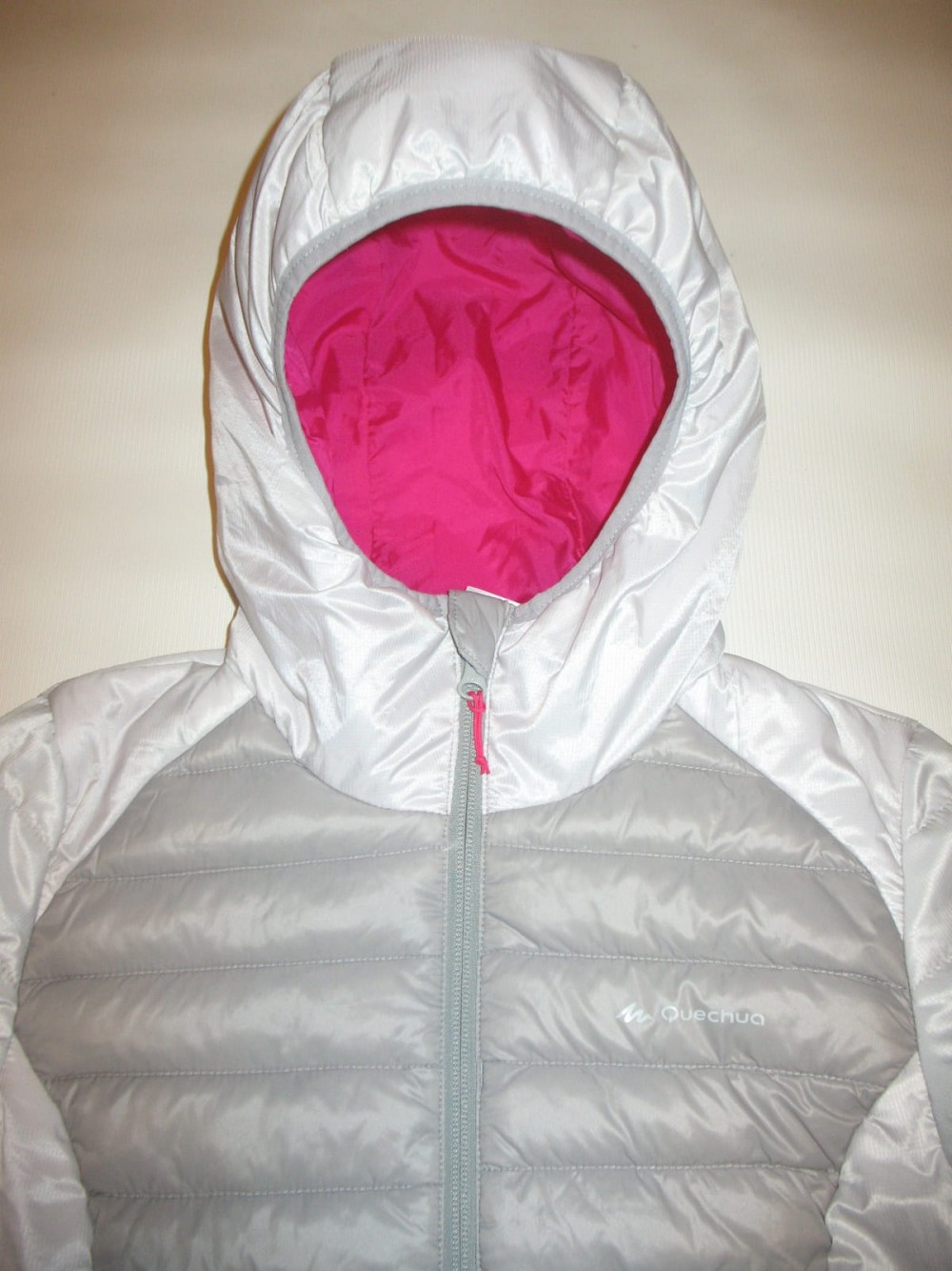 Куртка QUECHUA X-light down jacket lady (размер XS) - 3