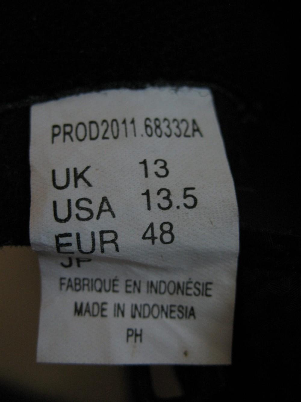 Велотуфли DIADORA aerospeed 2 road shoes (размер US13.5/UK13/EU48(на стопу 305 mm)) - 12