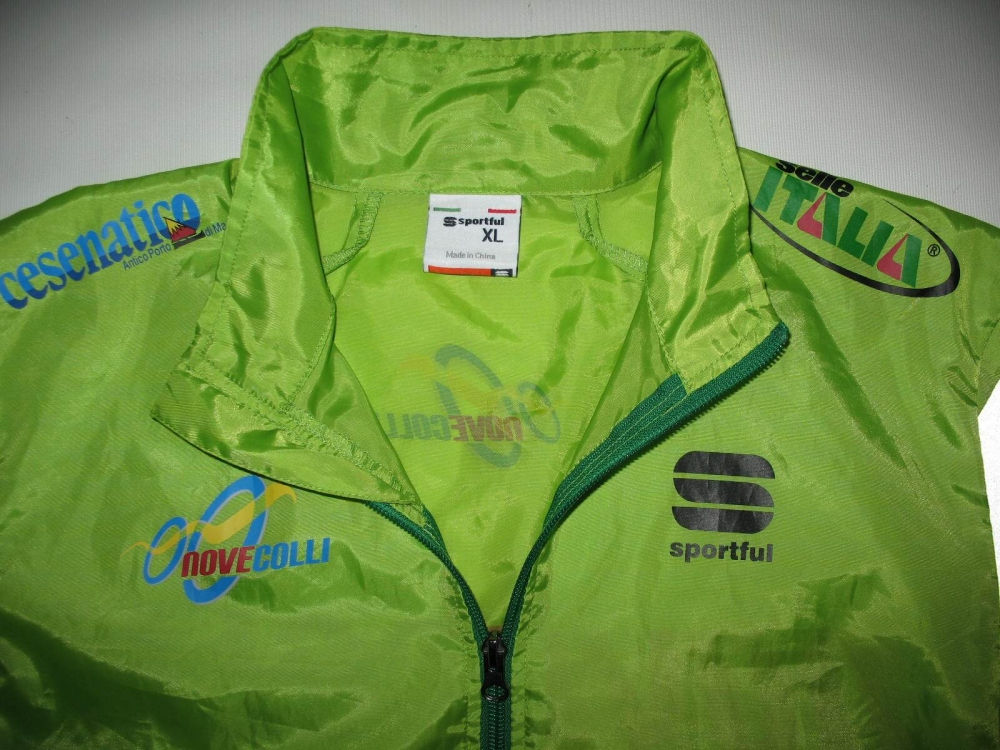 Куртка SPORTFUL novecolli cycling jacket (размер XL) - 2