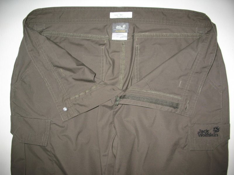 Штаны JACK WOLFSKIN Northpants Nano-Tex (размер 54-XL) - 4