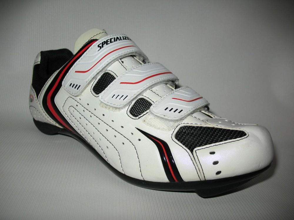 Велотуфли SPECIALIZED sport road white shoes (размер EU41(на стопу до 260 mm)) - 4