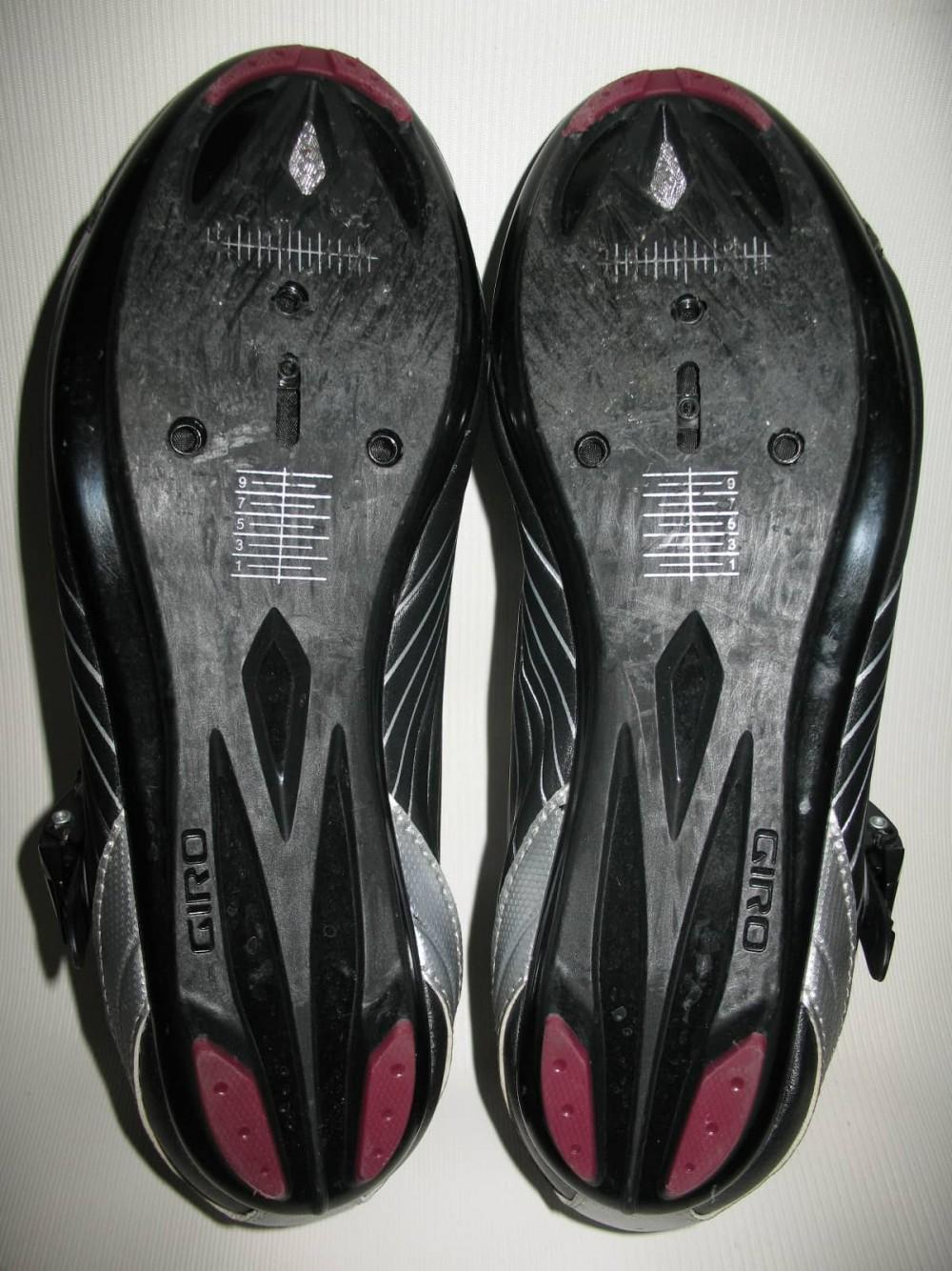 Велотуфли GIRO solara road shoes lady (размер US8/UK6/EU40(на стопу 250 mm)) - 8