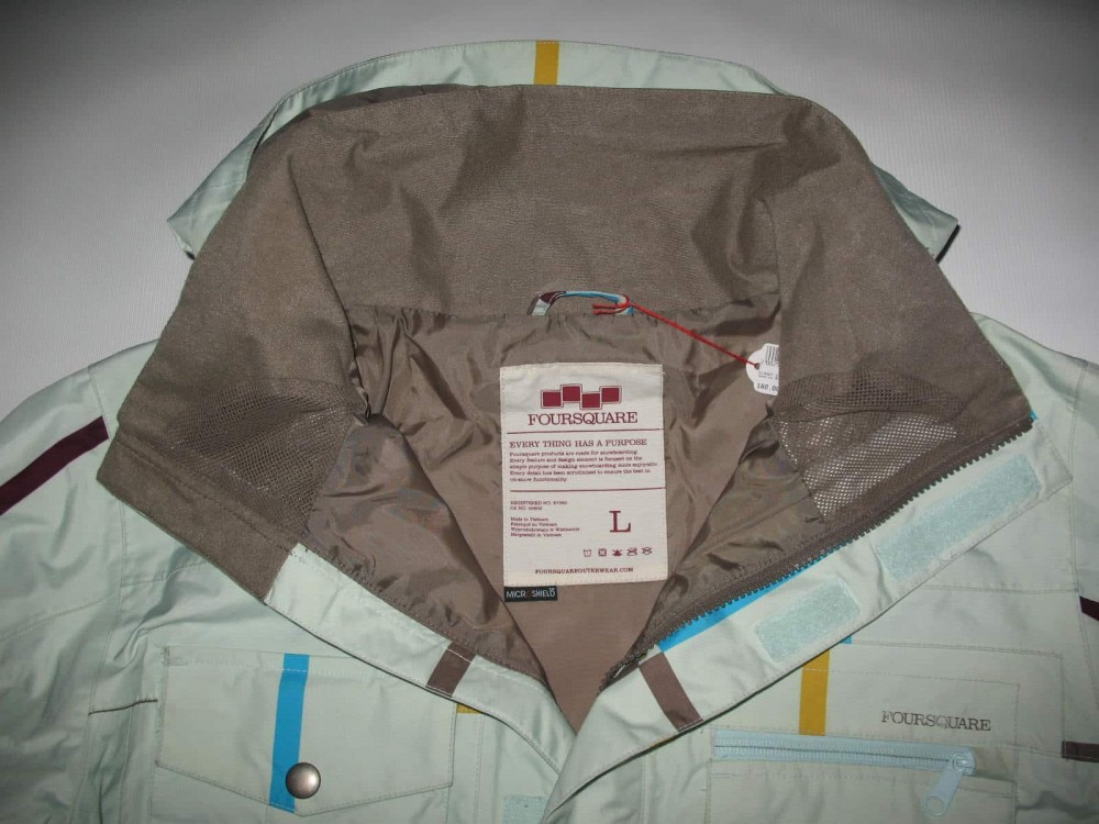 Куртка FOURSQUARE vise jacket (размер L) - 5